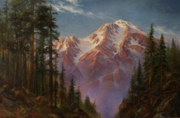 Mount Shasta, Hot Summer Day