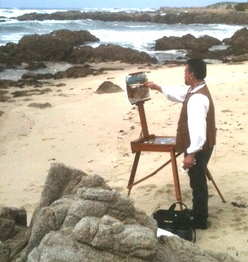 Plein Air Convention in Monterey