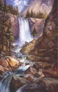 National Parks artist Yosemite NP Plein Air Alla Prima