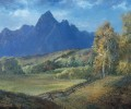 Painting The Teton Mountains En Plein Aire