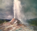 Yellowstone Geyser, Thundering Eruption