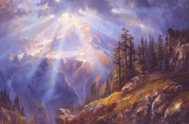 Painting Mount Rainier