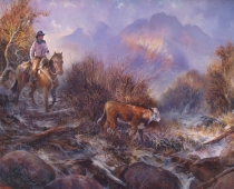 Mt Shasta Ca >> Western Paintings by Stefan Baumann