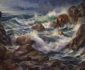Point Reyes Painting: Coastal Thunder