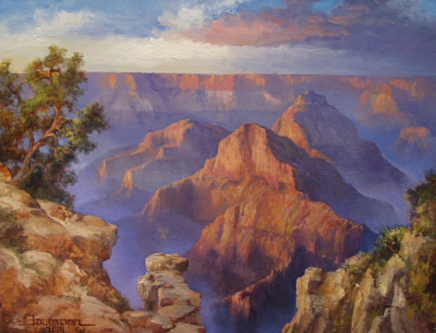 Grand Canyon Painting: In Resplendent Awe