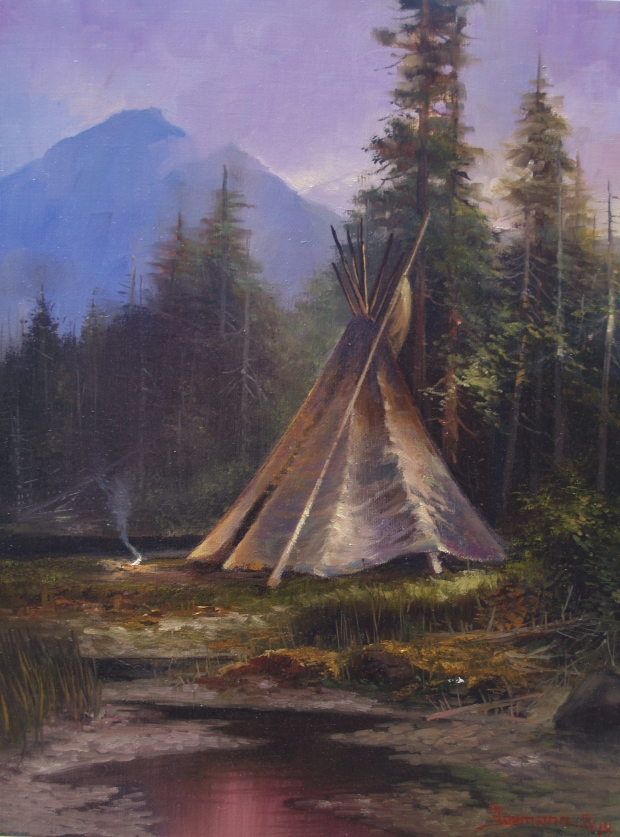 Glacier Park: Niitsitapi Encampment