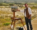 Stefan Baumann Painting On Location