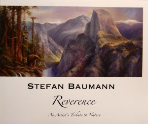 This is a picture of the cover of Stefan Baumann's Reverence Catalog available in Shop on his website at www.stefanbaumann.com.