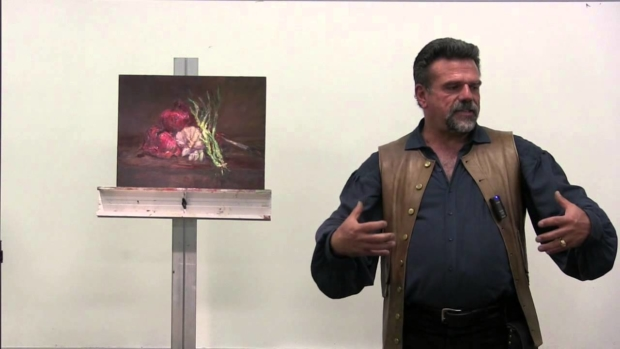 Creating Depth in your Paintings Interesting Backgrounds and Compositioins