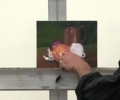Central focal point in oil painting Stefan Baumann #PleinAir #AllaPrima #OilPainting
